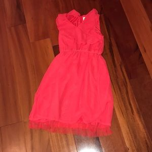 Blush by us Angles coral dress